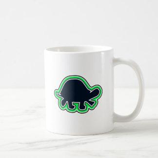 Die Rumpf-Schildkröte-Reihe eine Kaffeetasse
