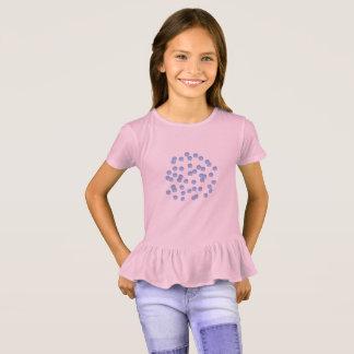 Die Rüsche-T - Shirt der blauen