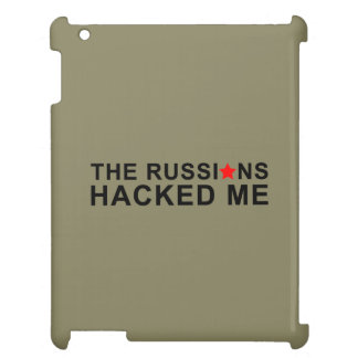die Russen zerhackten mich iPad Hülle
