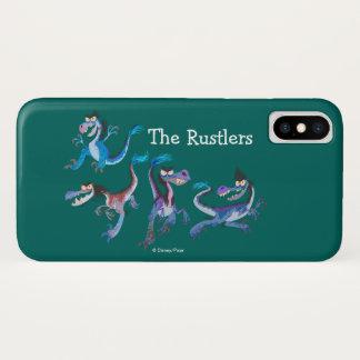 Die Rustlers grafisch iPhone X Hülle