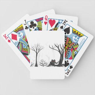 Die Sache im Wald Bicycle Spielkarten