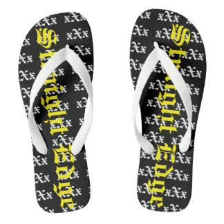 Die Sammlung des Kennzeichen-Ma$h xXx Flip Flops