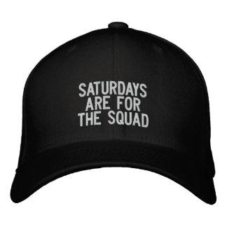 Die Samstag-Gruppe Bestickte Kappe