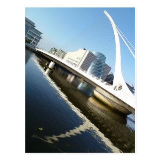 Die Samuel Beckett-Brücke Postkarte