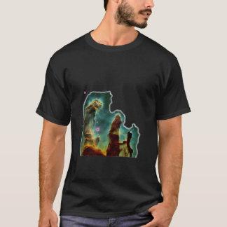 Die Säulen der Schaffung T-Shirt