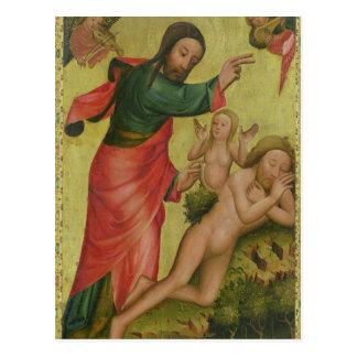Die Schaffung von Eve, eine Platte von Grabower Postkarte