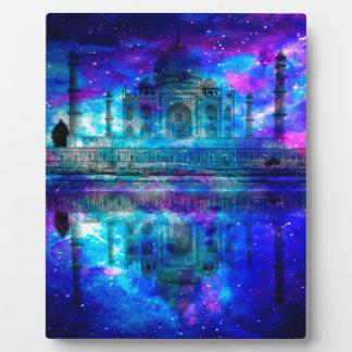 Die Schaffungs-Taj Mahal Träume des Liebhabers Fotoplatte