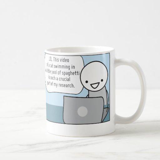 Die Schale des Procrastinators: Der Forscher Tee Haferl