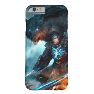Die Schatten-Ritter-Telefon-Abdeckung Barely There iPhone 6 Hülle