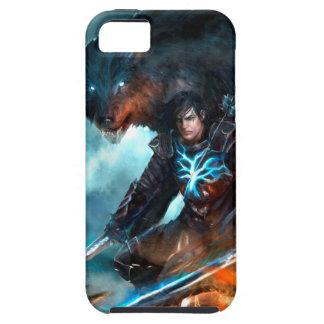 Die Schatten-Ritter-Telefon-Abdeckung Etui Fürs iPhone 5