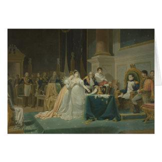 Die Scheidung der Kaiserin Josephine (1763-1814) 1 Karte