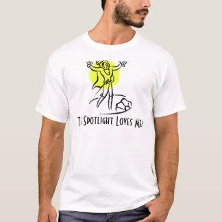 Die Scheinwerfer-Lieben ich! w/KBP ziehen an sich T-Shirt