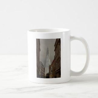 Die Scherbe angesehen von Eastcheap London Kaffeetasse