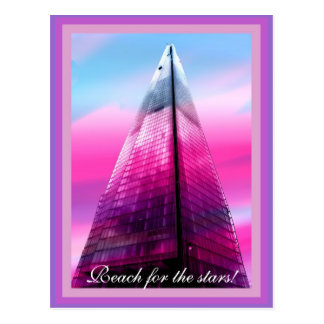 Die Scherbe in London Postkarte