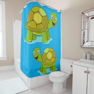 Die Schildkröten der Duschvorhang-Kinder Duschvorhang