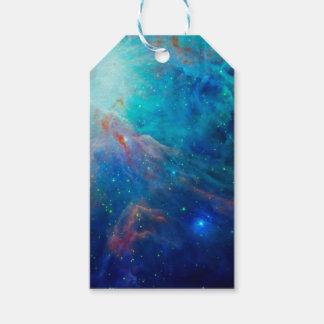 Die schimmernde NASA Blau Orions-Nebelflecks Geschenkanhänger