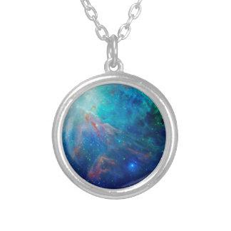 Die schimmernde NASA Blau Orions-Nebelflecks Versilberte Kette