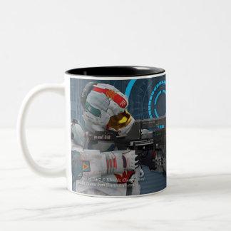 Die Schlafenlegions-Tasse Zweifarbige Tasse