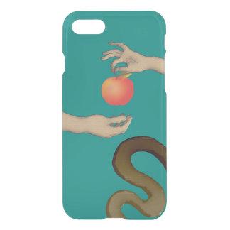 Die Schlangen-Blau-Hände Garten Eden-Apples Adam iPhone 8/7 Hülle