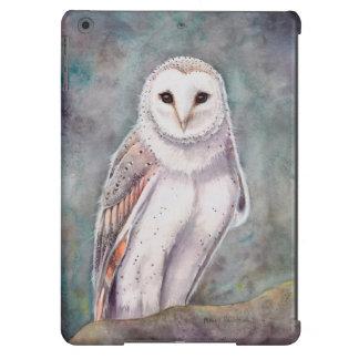 Die Schleiereule-Tier-Vogel-Kunst iPad Air Hülle