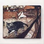 Die Schloss-Katze durch Rackham Mauspad
