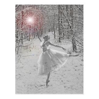 Die Schnee-Königin Postkarte