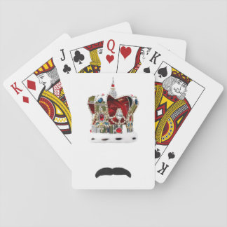 Die Schnurrbart-Königin Spielkarten