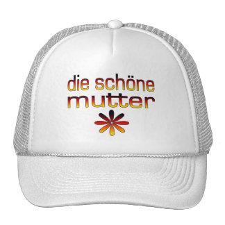 Die Schöne murmeln Deutschland-Flaggen-Farben Netzcap