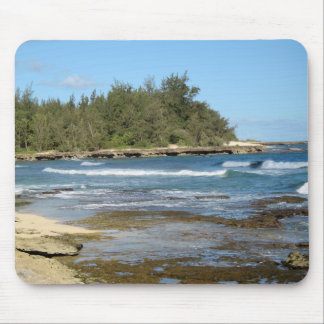 Die schöne Schildkröte-Bucht in Oahu Hawaii Mousepad
