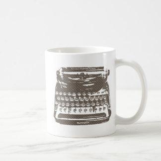 die Schreibmaschine - Diamantplatte Kaffeetasse