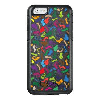 Die Schuhe der Muster-bunten Frauen OtterBox iPhone 6/6s Hülle