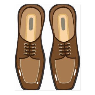 Die Schuhe des ledernen Mannes Postkarten