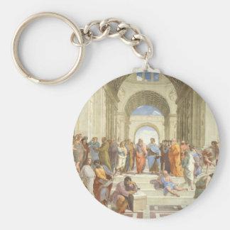 Die Schule von Athen Schlüsselanhänger