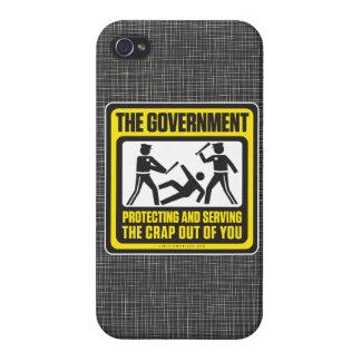 Die schützende und dienende Regierung iPhone 4 Schutzhüllen