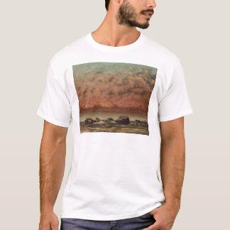 Die Schwarz-Felsen bei Trouville durch Gustave T-Shirt
