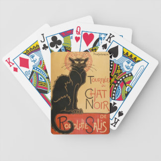 """Die schwarze Katze"" Le Chat Noir Bicycle Spielkarten"