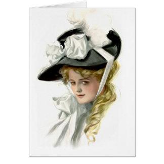 Die schwarze Mütze Karte