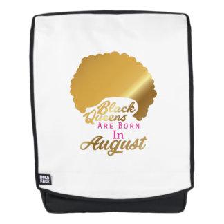 Die schwarzen Königinnen der Geburtstags-Frauen Rucksack