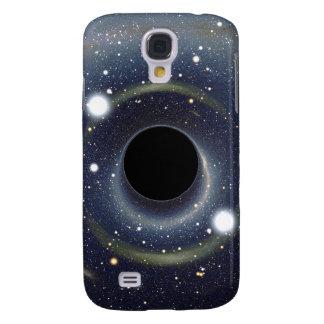 Die schwarzes Locheinstein-Ring NASA Galaxy S4 Hülle