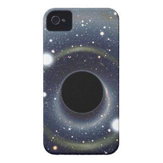 Die schwarzes Locheinstein-Ring NASA iPhone 4 Hülle