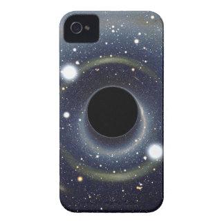 Die schwarzes Locheinstein-Ring NASA iPhone 4 Hüllen