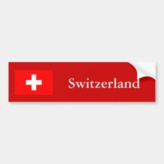 Die Schweiz Autoaufkleber