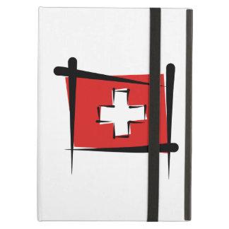 Die Schweiz-Bürsten-Flagge