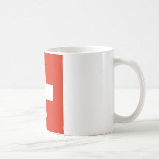 Die Schweiz-Flagge Kaffeetasse