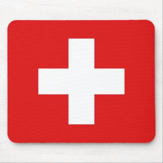Die Schweiz-Flagge Mousepad