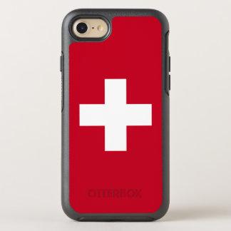 Die Schweiz-Flagge OtterBox Symmetry iPhone 8/7 Hülle