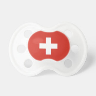 Die Schweiz-Flagge Schnuller