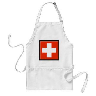 Die Schweiz-Flagge Schürze