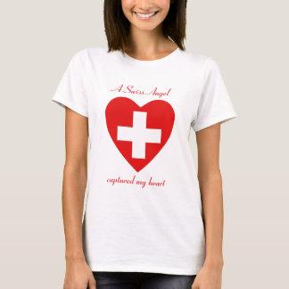Die Schweiz-Flaggen-Schatz-T - Shirt