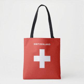 Die Schweiz-Flaggen-Taschen-Tasche Tasche